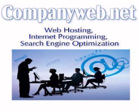 CompanyWeb.net: Web Hosting, Internet Programming, Search Engine Optimization